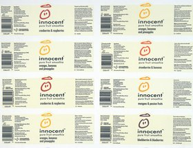 innocent bottle labels