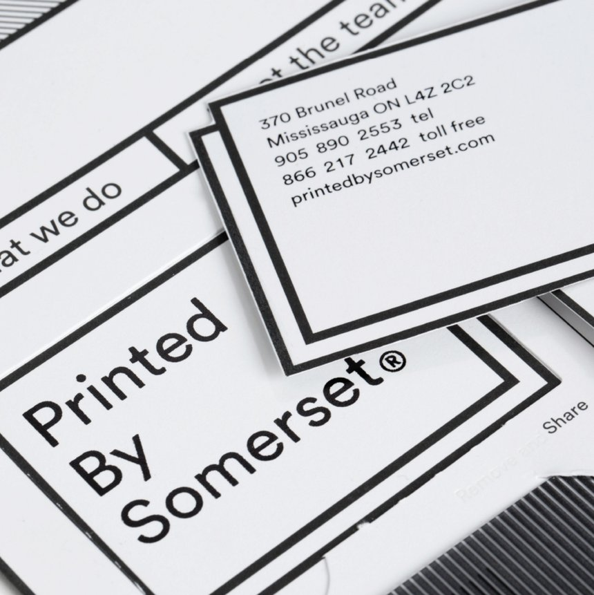Printed By Somerset