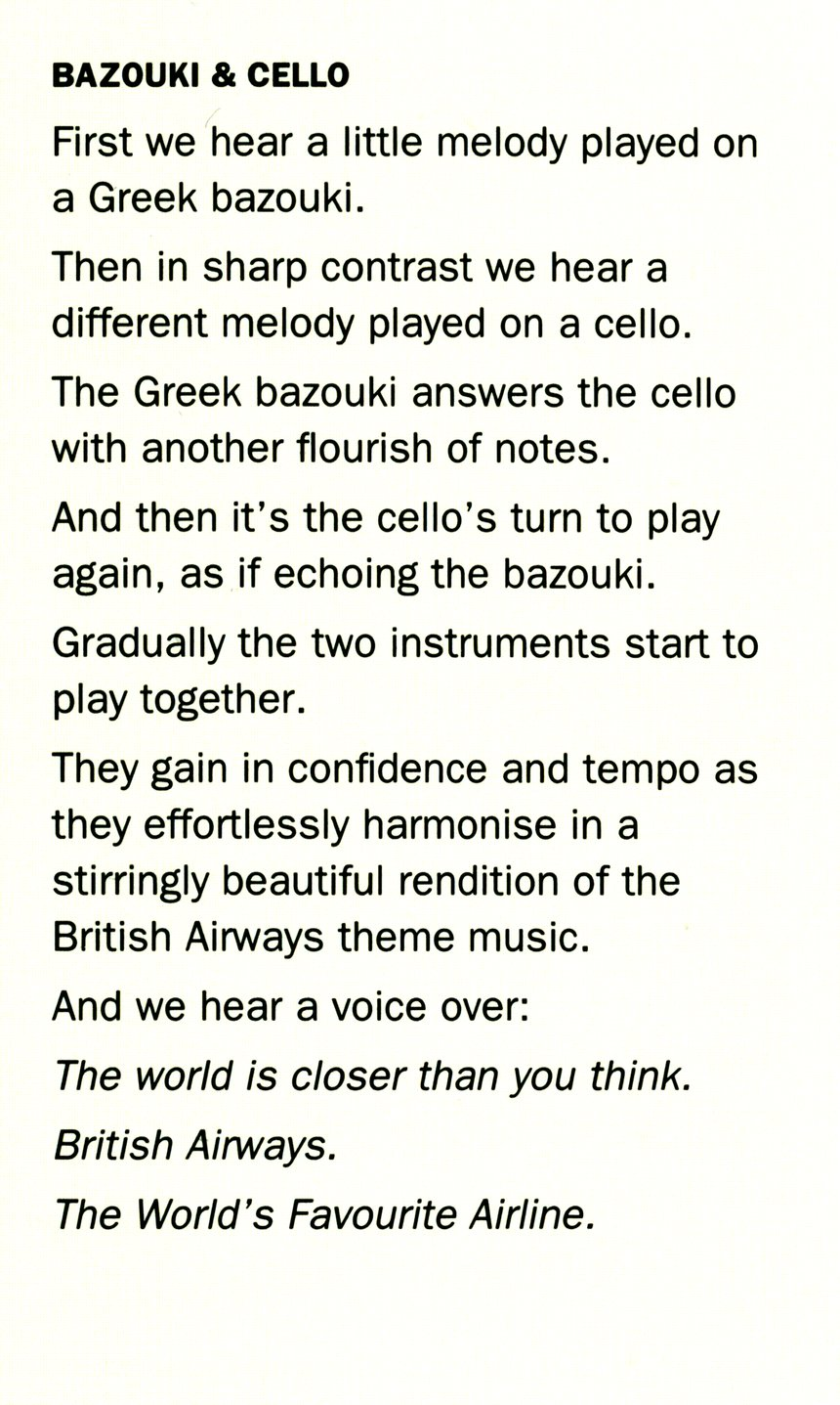 Bazouki & Cello / Snake Charmer & Trumpet / Sitar & Piano  / Pan Pipes & Violin