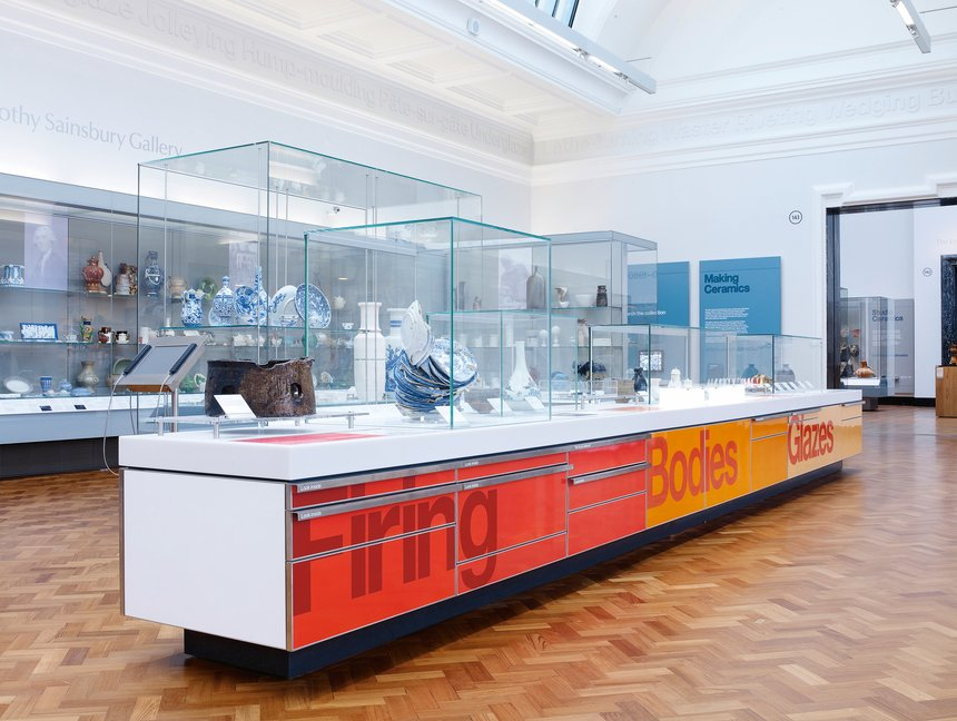 V&A Ceramics Galleries: Gallery Identity, Interpretative Graphics and Wayfinding