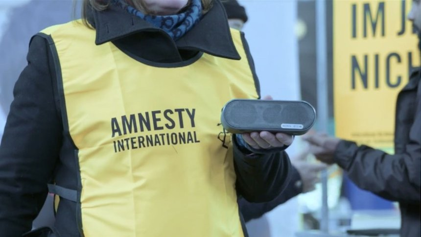 "Amnesty International Switzerland ""The War Siren Test"""