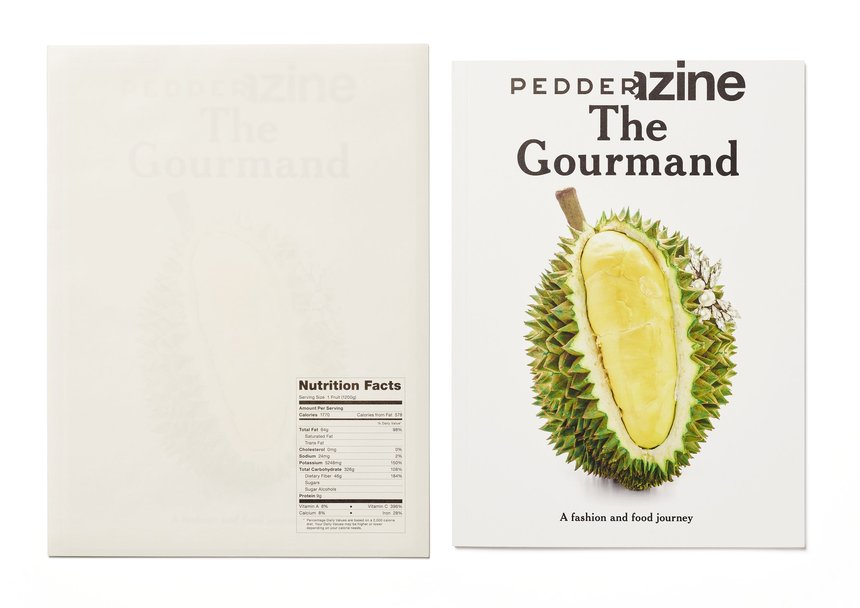 PEDDERZINE No.17: The Gourmand