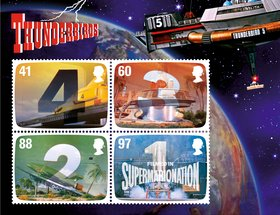 FAB: The Genius of Gerry Anderson Stamps and Products