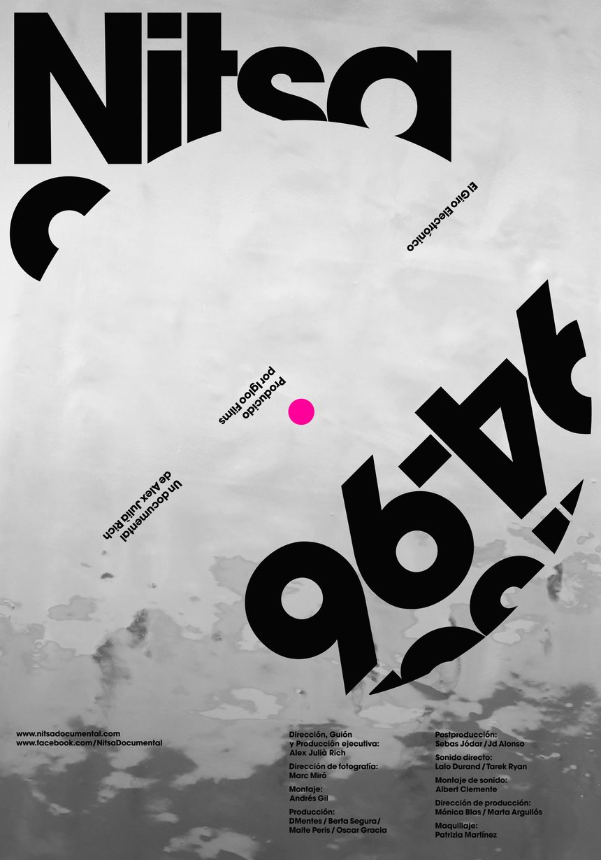 Stunning Posters with a Typographic Twists D&AD Nitsa 94/96