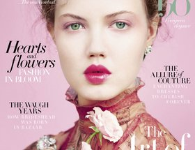 Cover Designs for Harper's Bazaar UK