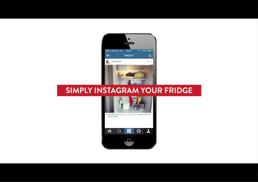 Instagram Your Fridge