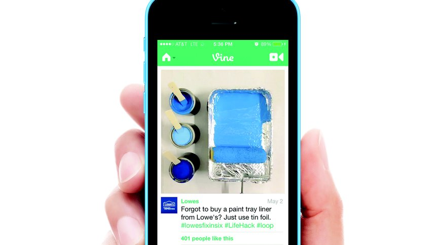 Lowe's Vine Fix in Six Campaign