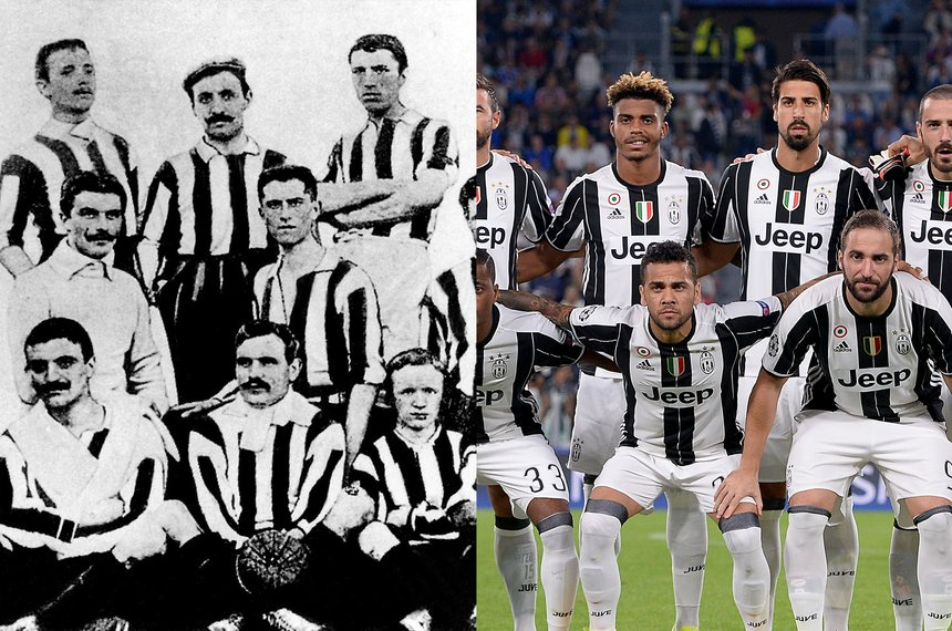 Juventus Fans: Black and White DNA