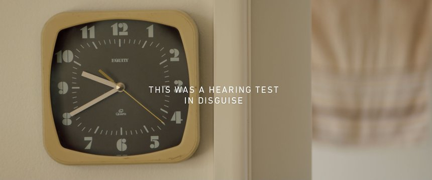 The Hearing Test in Disguise
