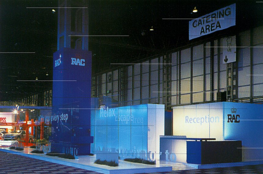 Exhibition Stand for RAC