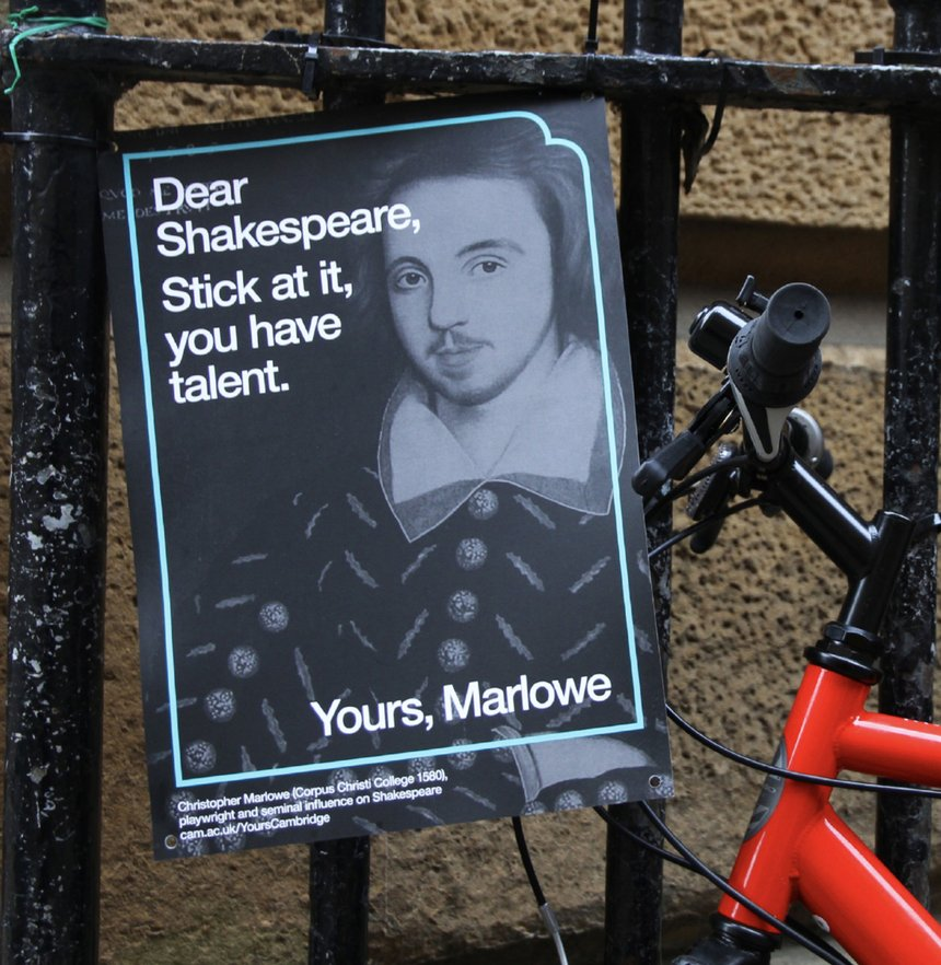 Dear World... Yours, Cambridge railing posters