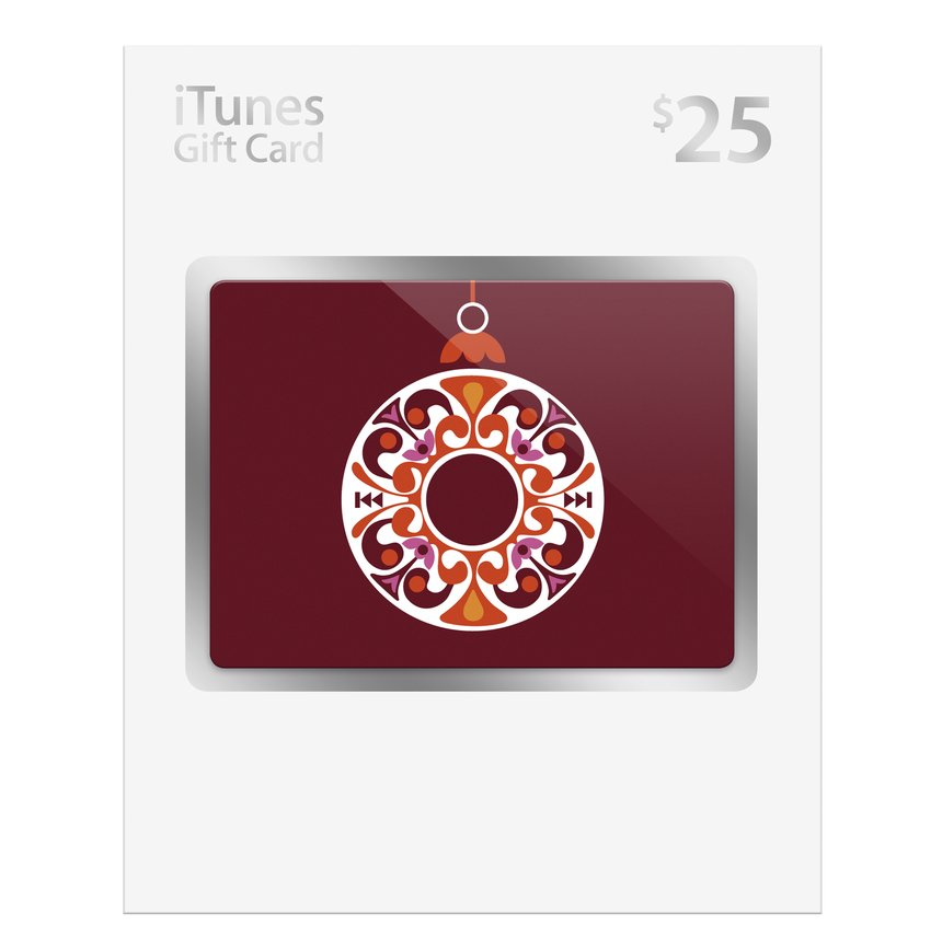 iTunes Holiday Gift Cards