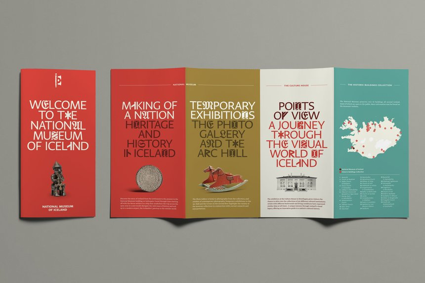 National Museum of Iceland brand identity