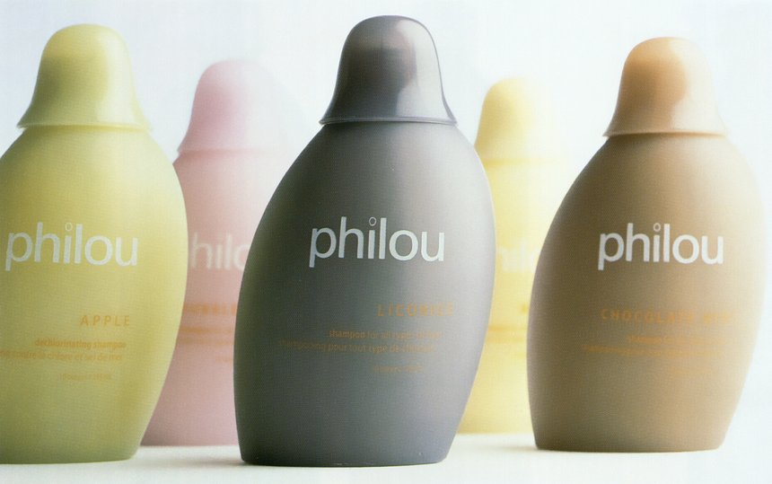 Philou Hair Product Bottle