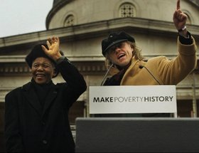 Make Poverty History Campaign