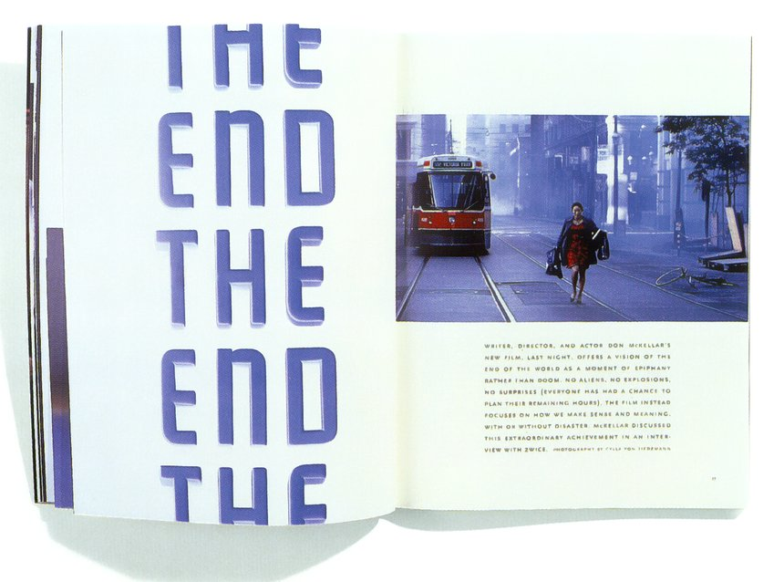 "2wice ""The End"" - Vol 3 :No.2"