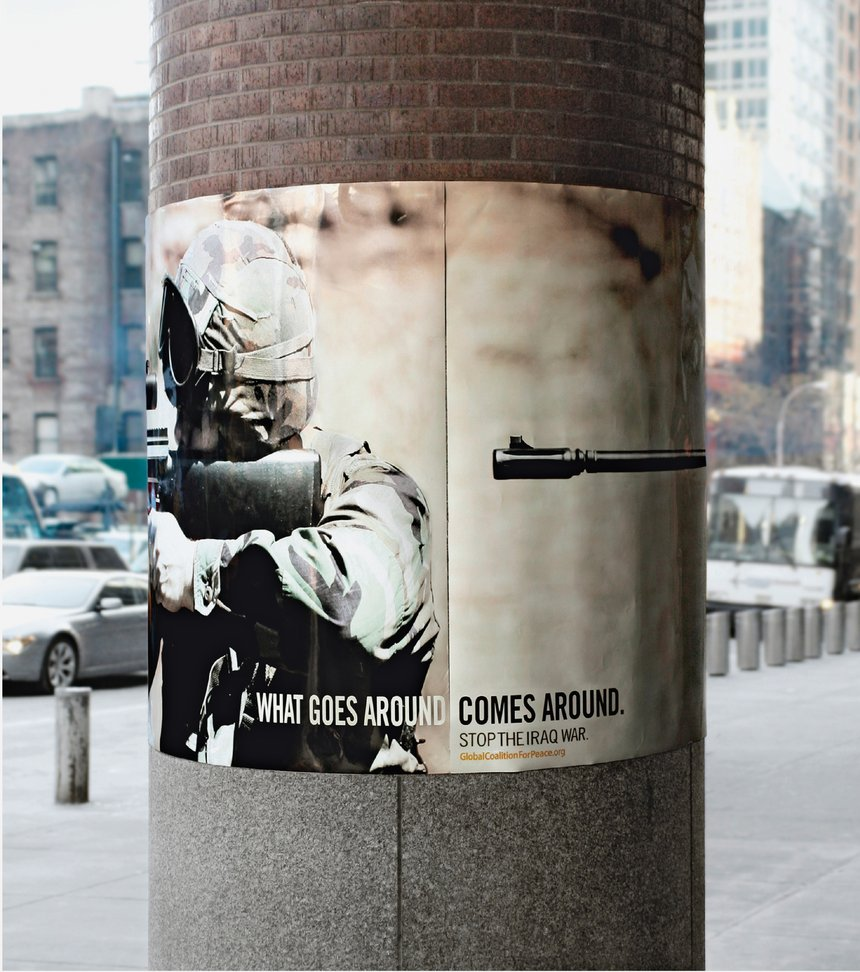 What Goes Around Comes Around - GUN / TANK /  JET / GRENADE