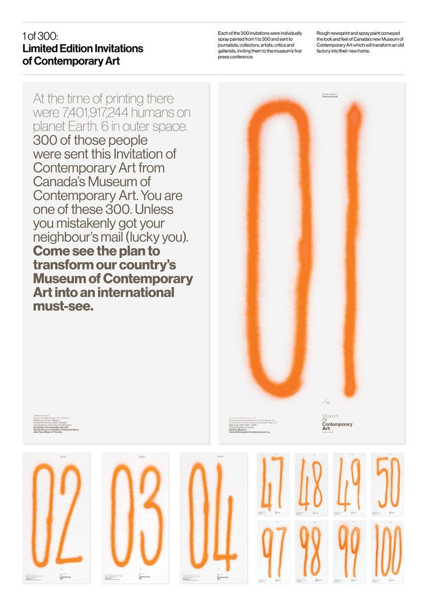 1 of 300: Limited Edition Invitations of Contemporary Art