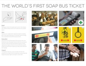 The World's First Soap Bus Ticket