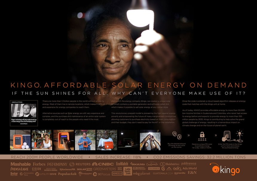 Kingo - Affordable Solar Energy on Demand