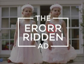 The Error Ridden Ad