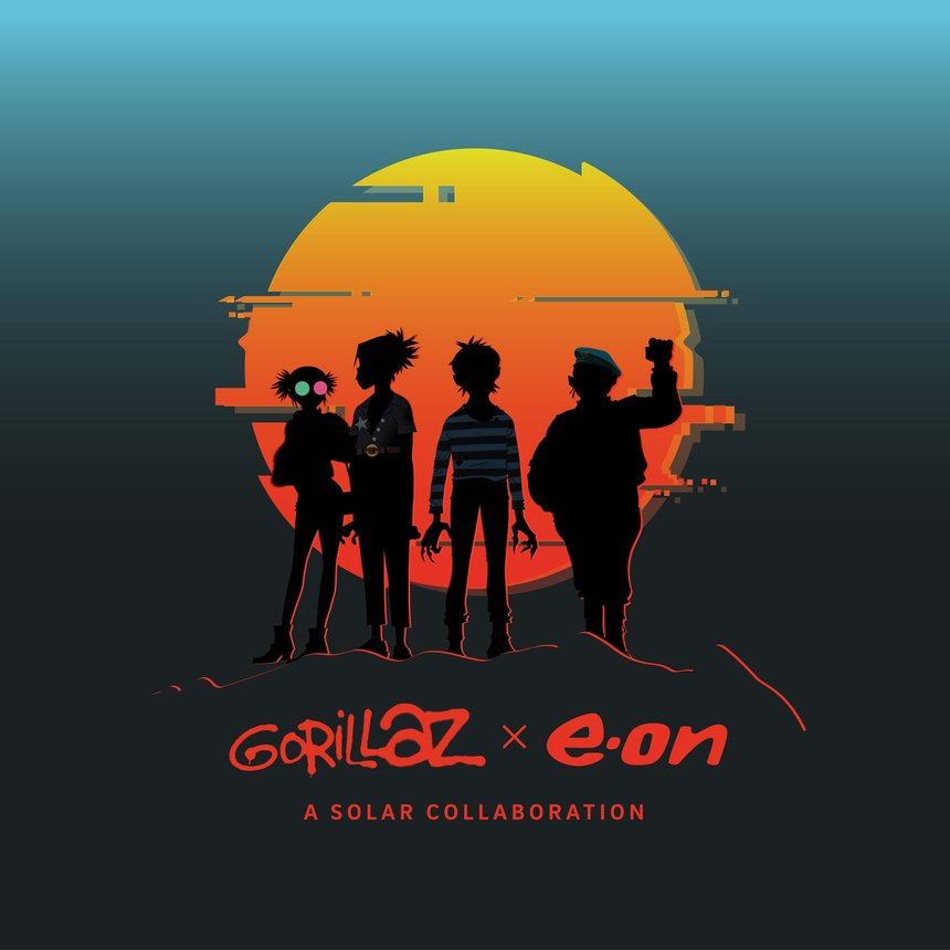 E.ON x Gorillaz: A Solar Collaboration