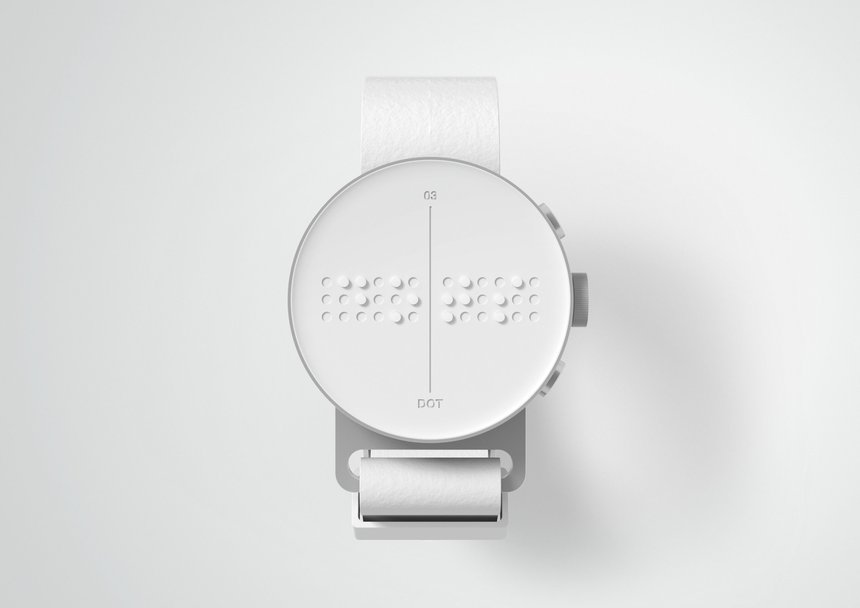 DOT. The first Braille Smartwatch.