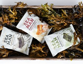 Sea Man Seaweed Chips