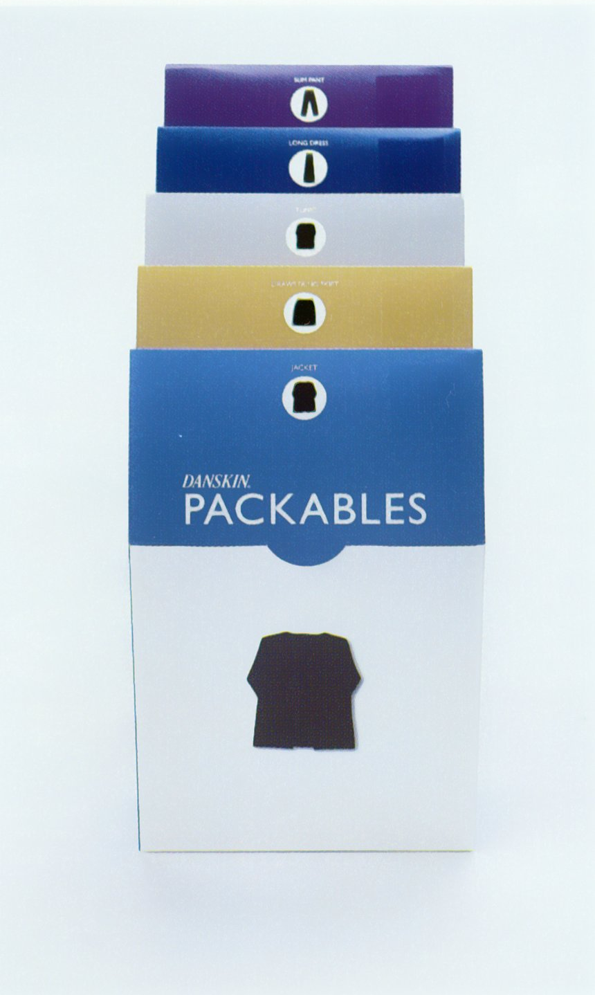 Danskin Packables Packaging