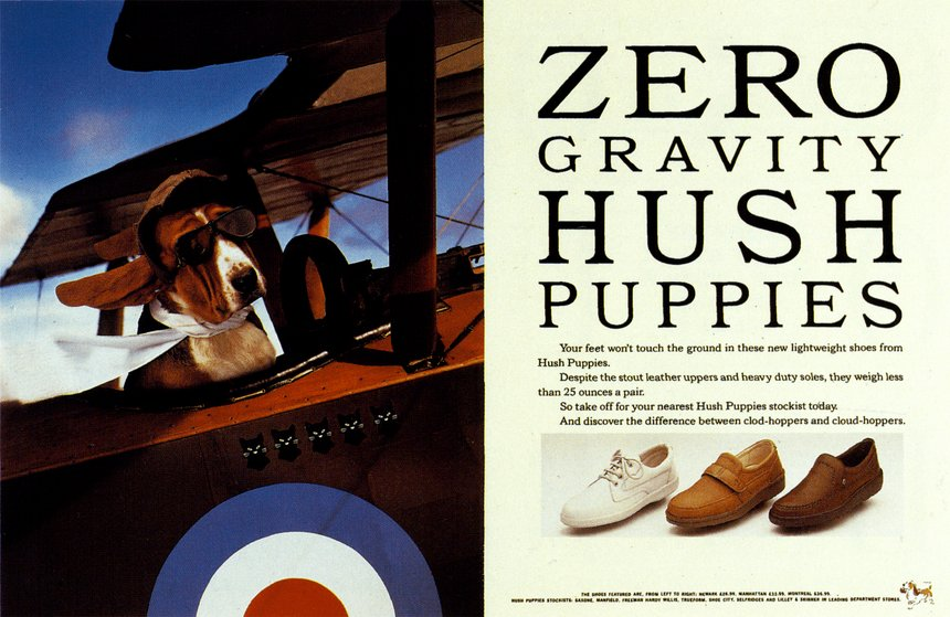 Zero Gravity Hush Puppies