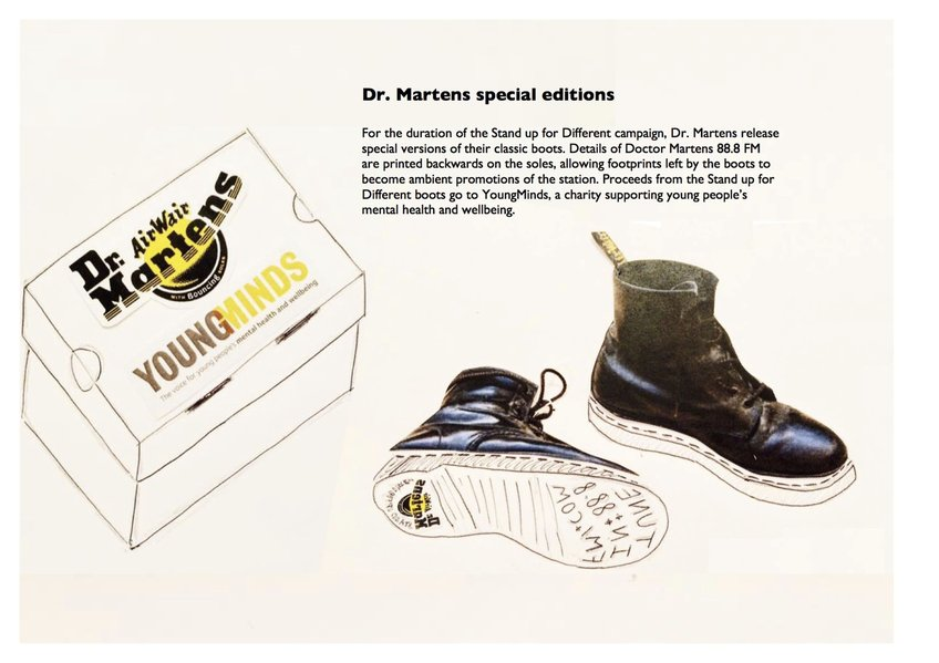 0a2f814c90 Stand Up For Different | 2016 D&AD New Blood Winner | Dr. Martens | D&AD