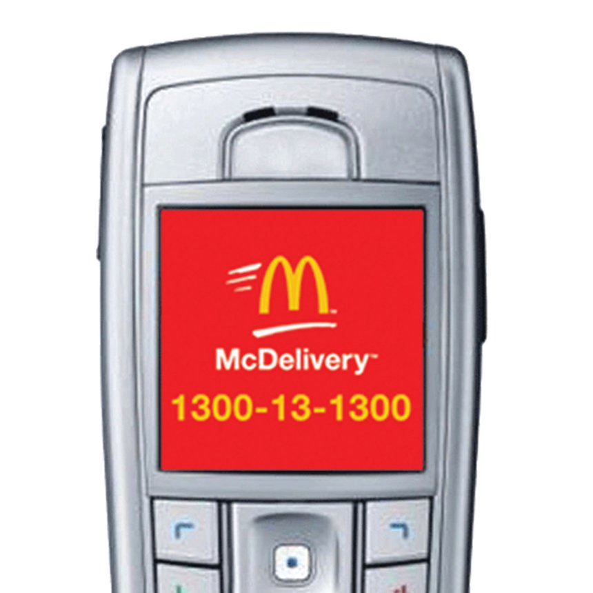 McDonald's McDelivery - Hands