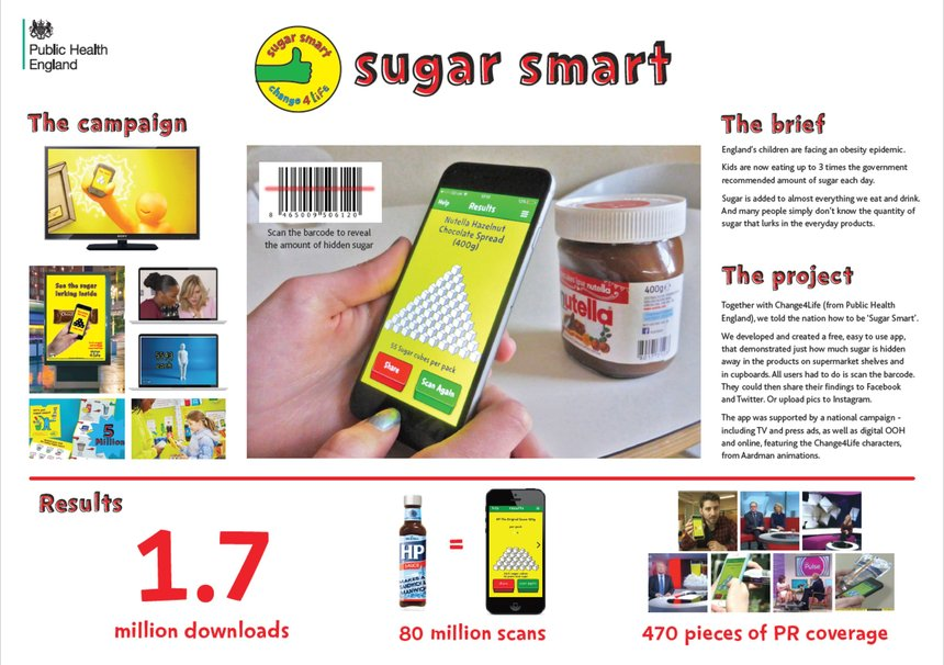 PHE - Change 4 Life - Sugar Smart