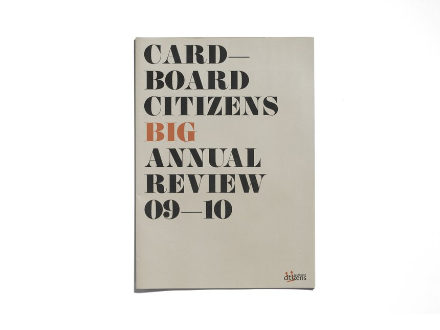 Cardboard Citizens Big Annual Review
